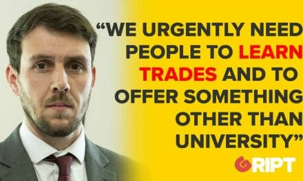 Education & Public Policy: We urgently need people to learn trades, university is not for everyone