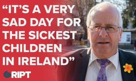 """""""It's a very sad day for the sickest children in Ireland"""" – Mattie McGrath on the children's hospital"""