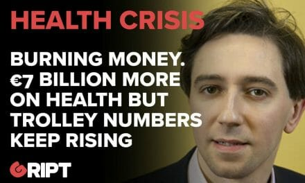 Simon Harris is spending €7 BILLION more on Health – but the number of people on trollies is GROWING