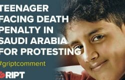WHERE is the outcry? A child was arrested in Saudi Arabia for attending a protest - now he might be put to death by crucifixion.