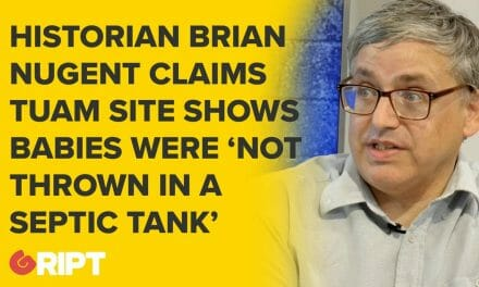 Historian says evidence from the Tuam site shows babies were not 'thrown in septic tank'