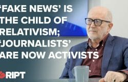 Journalist Michael Kirke speaks about fake news and thought crimes