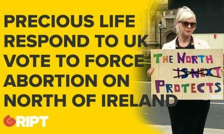 Reaction to the recent Westminister vote which attempts to extend abortion to North of Ireland
