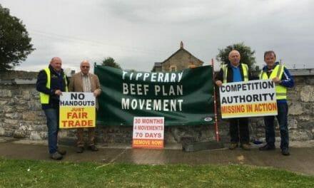 Tipperary TD pledges support for beef farmers back on strike