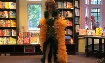 Pre-school lessons from UK Drag Queen: How to Twerk