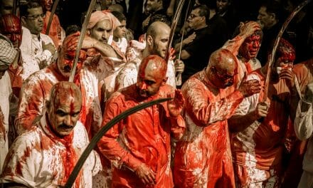 31 die in festival stampede where devout Muslims cut their heads to remember leader