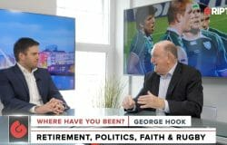 George Hook Returns At His Entertaining Best