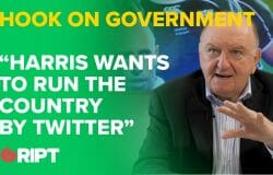 "HOOK on government: ""Harris wants to run the country by twitter"""