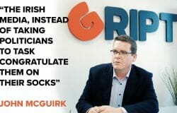 """McGuirk: """"Media spends its time congratulating politicians on their socks"""""""