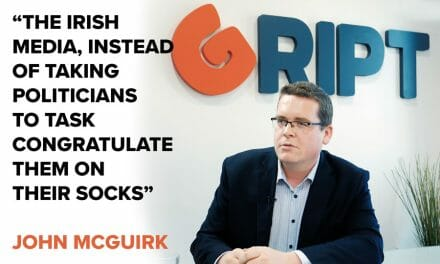 "McGuirk: ""Media spends its time congratulating politicians on their socks"""