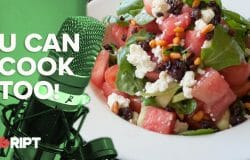 You Can Cook Too 05 - Watermelon Greek Salad