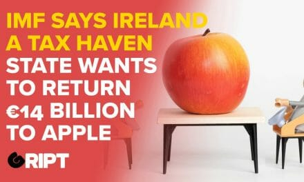 Why is Ireland refusing €14bn owed by Apple and now labelled a Tax Haven?