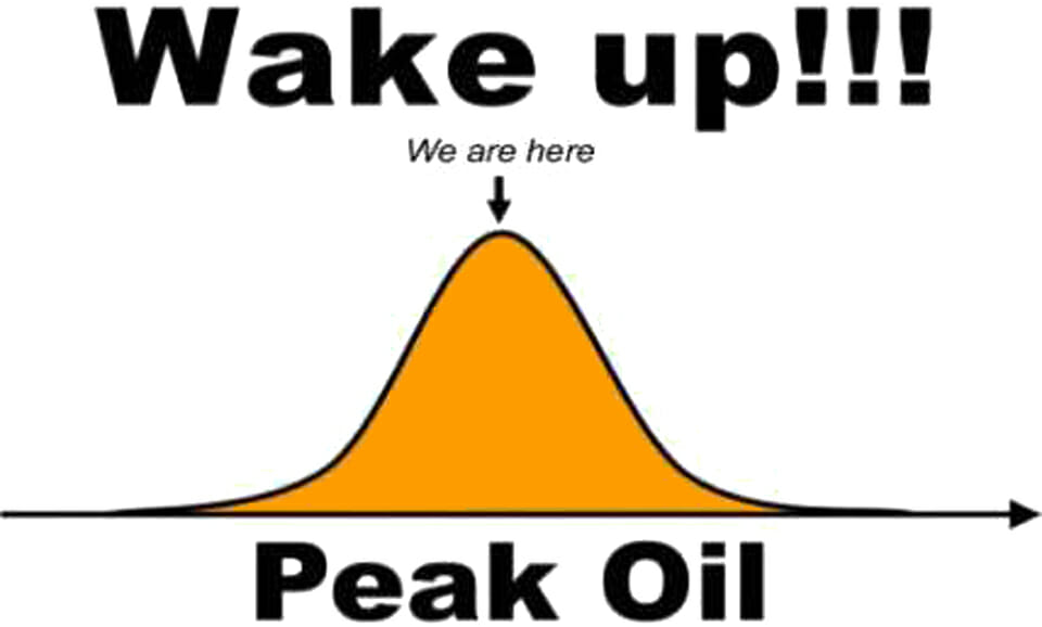 "Before Greta Thunberg, there was ""Peak Oil"". Has everyone forgotten?"