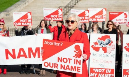 """""""It's not over"""": North of Ireland Party leader and pro-lifers vow to fight on against abortion law"""