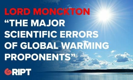 "Lord Monckton: ""The major scientific errors of global warming proponents"""