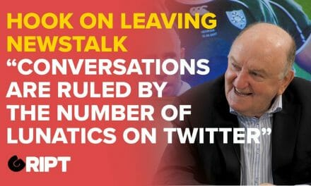 Hook on being fired from Newstalk & the Twitter mob that runs the media