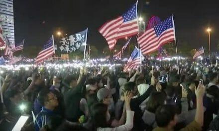 WATCH: Hong Kong sings US anthem after Trump signs Act in solidarity