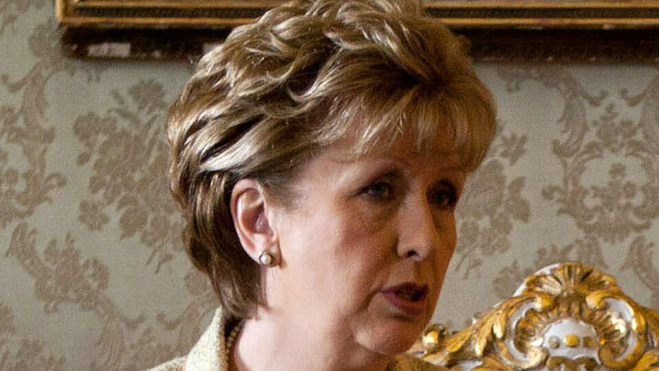Mary McAleese attacks Church for not singing from her hymn-sheet