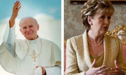 Mary McAleese should apologise for slur on John Paul II