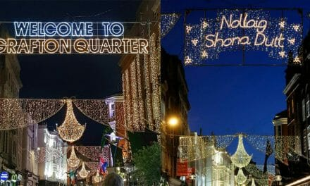 Grafton street ditches Nollaig Shona and raises social media storm