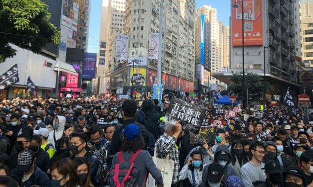 WATCH: 800,000 march in Hong Kong to mark 6 months of protests
