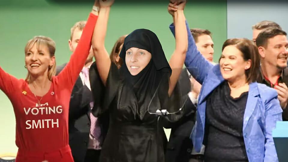 Sinn Féin blown away as Lisa Smith auditions for election