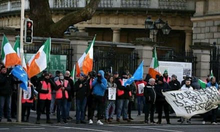 REVEALED: Far-left group  investigated in connection to the murder of Lyra McKee attended NGO event