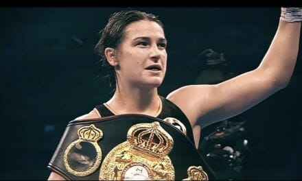Katie Taylor wins prestigious 'Female Fighter of The Year' award