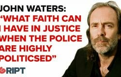 Waters: What faith can a citizen have in the justice system when the police are highly politicised