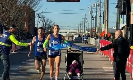 Pro-life mom sets new world record for fastest half-marathon while pushing baby stroller