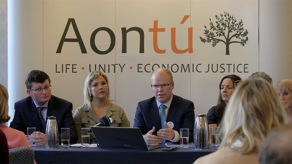 Aontú consider High Court action as RTÉ excludes party from debate