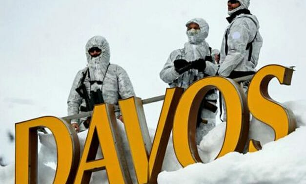 Davos: the rich teaching the poor how to be mean