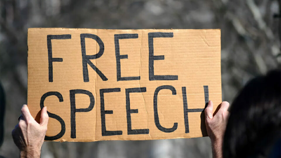 Group seeks to restrict free speech, right to protest with election pledges