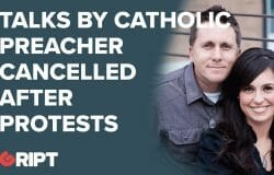 Is Jason Evert being censored for having Catholic views...