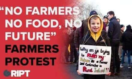 "Farmers Protest: ""No farmers, no food, no future"""