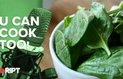 You Can Cook Too 20 - A spinach and potato side