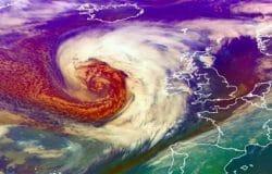 Viral videos show danger of breaking waves #StormBrendan