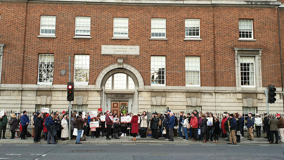 Programme for Government will ban pro-life vigils outside hospitals
