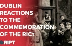 Dubliners: what they think of the 'commemoration' for the RIC