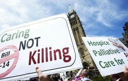 Death is becoming very efficient in Canada