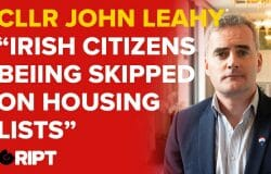 Cllr John Leahy speaks out on the proposed Direct Provision centre for Tullamore