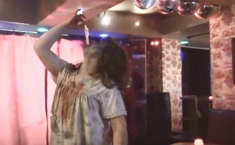 Condom-eating Drag Queen dropped by Scottish school after pro-family party's exposé