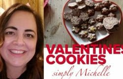 LOVING THIS: Watch Michelle's super-easy recipe for Valentines chocolate treats