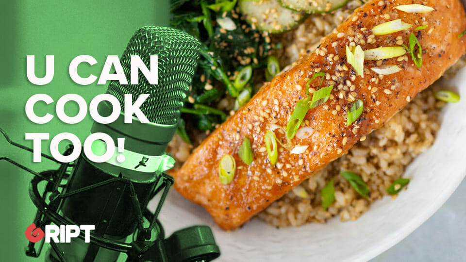 You Can Cook Too 22 – Glazed salmon with cucumber sesame salad