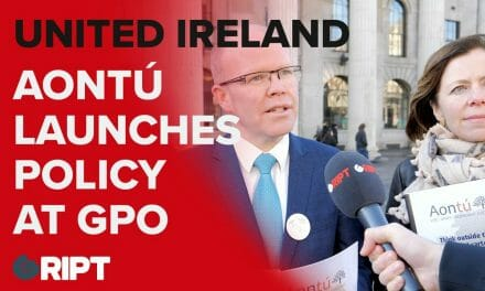 Peadar Tóibín outlined Aontú's 'United Ireland Policy' at the GPO today