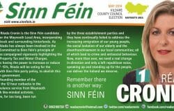 Sinn Fein TD Cronin has account deleted following Gript report
