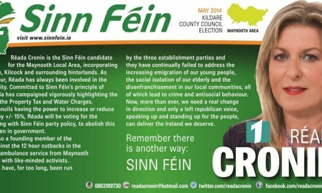 Sinn Fein TD Cronin has account deleted following Gript report
