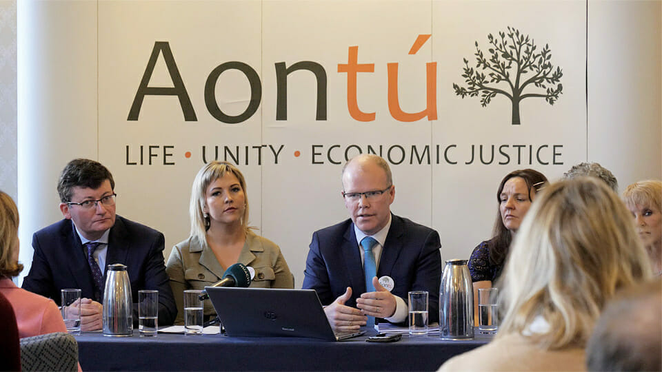 """Aontú slams imposition of abortion on north """"with the aid of SF and the SDLP leadership"""""""