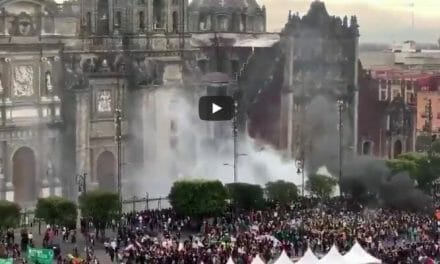WATCH: Feminist tries to firebomb cathedral – seriously backfires