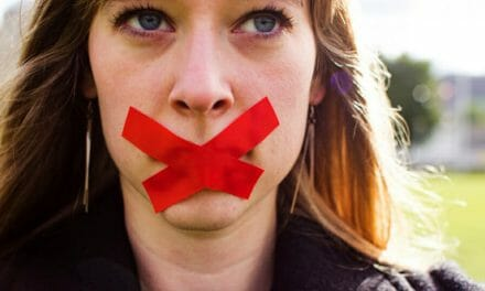 Women are being silenced during International Women's Week. And this time it's not the patriarchy